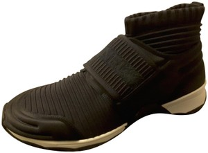 Chanel Sneakers Stretch Knit black Athletic