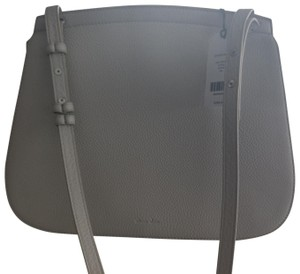 Steven Alan Satchel in White/grey. Color code is oyster