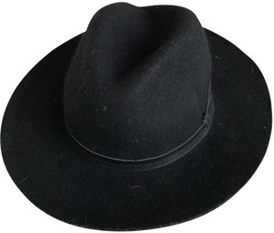 Urban Outfitters Urban Outfitters Ecote Black Anna Felt Panama Hat