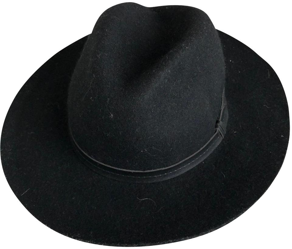 df8afb390362c Urban Outfitters Urban Outfitters Ecote Black Anna Felt Panama Hat Image 0  ...