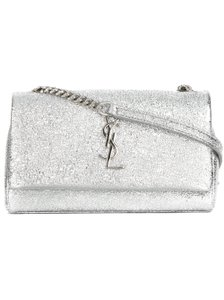 Saint Laurent Ysl Night Out Sequin Shoulder Bag