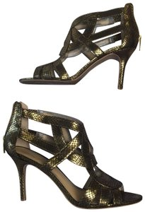 Marc Fisher Gold Pumps