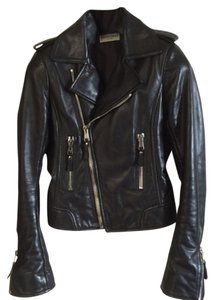 Balenciaga Leather Designer Biker Motorcycle Soft Leather Leather Zippers Italy Stylist Stylish Leather Jacket