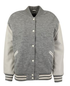 AllSaints Leather grey Jacket