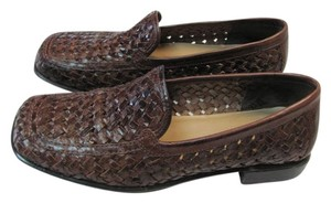 Liz Claiborne Size 7m Leather BROWN Flats