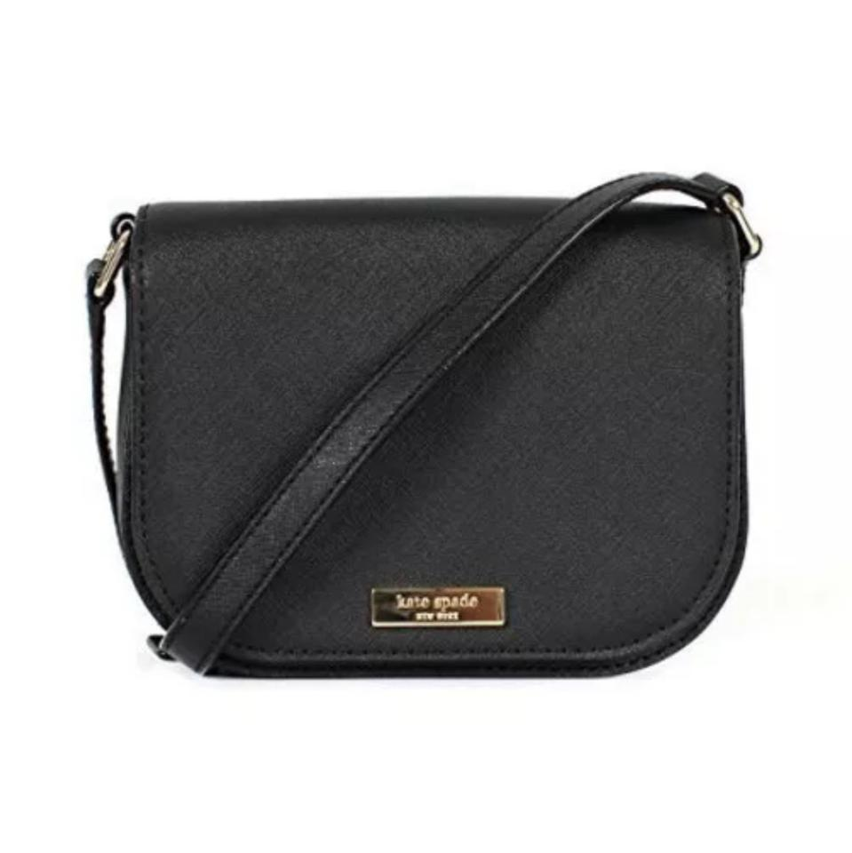 f8fcb35c8 Kate Spade New with Tag Black Leather Cross Body Bag - Tradesy