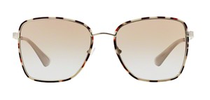 70e4e96e0a4d6 Prada Silver   Spotted Brown Free 3 Day Shipping Cute Square Spr 52s Uao4s2  Sunglasses - Tradesy