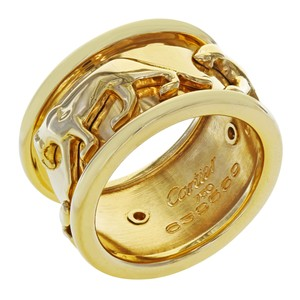 Cartier Walking Panthere Cartier Vintage Ring Size 5.5 (20071)