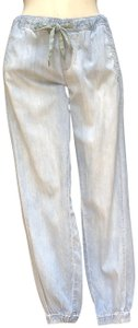 Hei Hei Drawstring Skinny Jeans-Light Wash