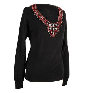 Philipp Plein Jeweled Knit Sweater