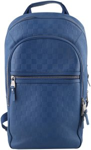 Louis Vuitton Neptune Michael Leather Mesh Backpack