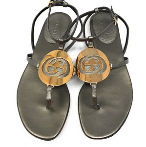 Gucci Green Sandals