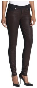 CJ by Cookie Johnson Coated Twotone Skinny Jeans-Coated
