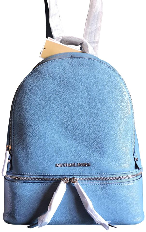 MICHAEL Michael Kors Pebbled Leather Small Medium Size Backpack Carryall  Backpack ... bb42e2783a