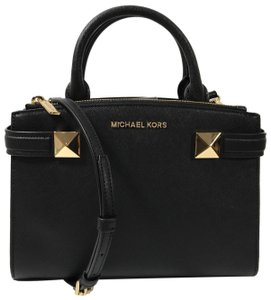 MICHAEL Michael Kors Bags Mk Crossbody Bags Karla Satchel in Black
