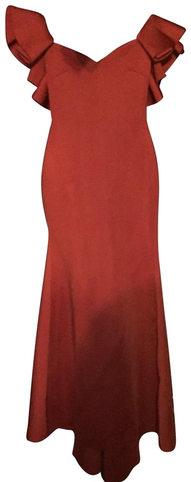 8a5ea6860 Red Salty Babe Mermaid Long Formal Dress Size Petite 14 (L) - Tradesy