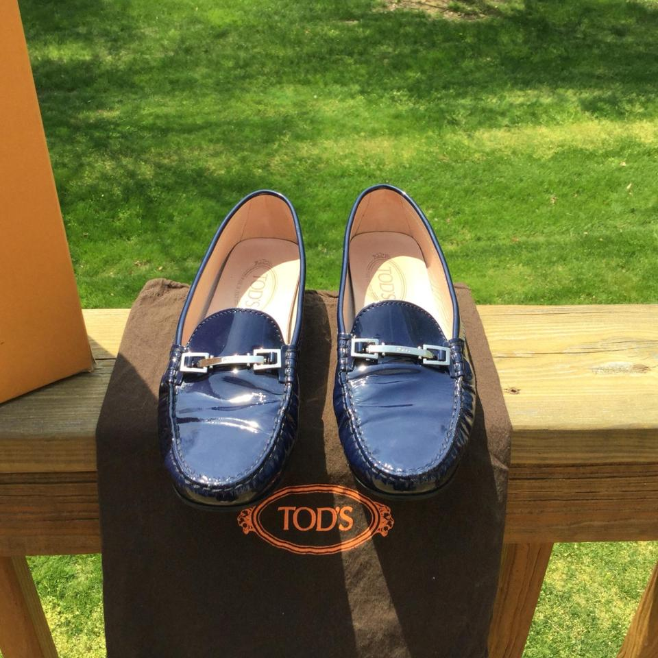 Flats Blue Tod's Tod's Midnight Midnight axnZqYPxp8