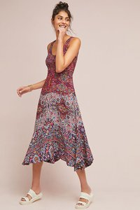 Maeve short dress Purple Anthropologie Top Rated on Tradesy