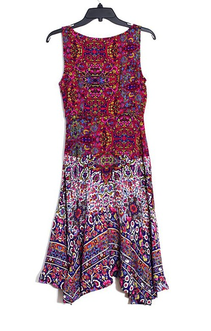 Anthropologie short dress Purple Top Rated on Tradesy Image 2