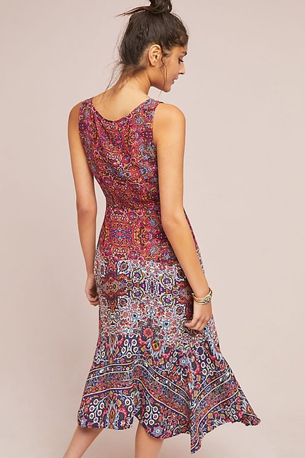 Anthropologie short dress Purple Top Rated on Tradesy Image 3