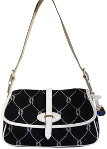 Dooney & Bourke Vintage Resort Summer Party Monogram Shoulder Bag