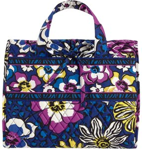 Vera Bradley hanging travel organizer waterproof lined