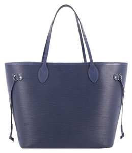 Louis Vuitton Neverfull Tote in Blue