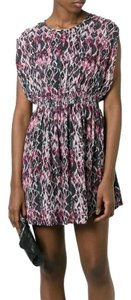 IRO short dress Black / Pink on Tradesy