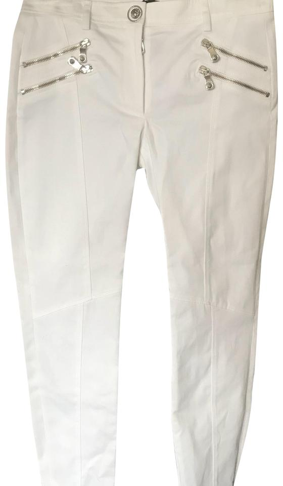 88935902f1983 Versus Versace White Bd40228 In Optical Pants Size 4 (S