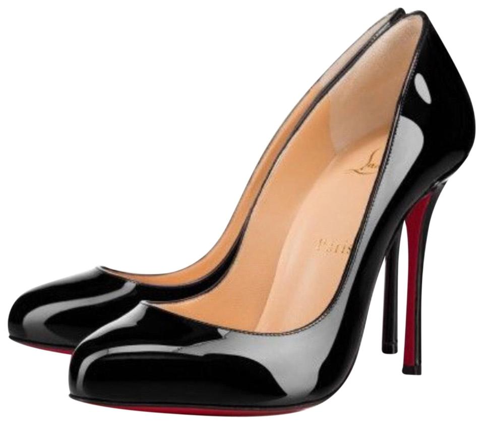 Stiletto Patent Allen Merci Christian Classic Louboutin Pumps Black gwnCx