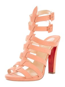 Christian Louboutin Summer Strappy Pumps Melon Sandals