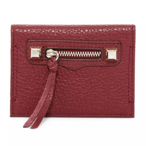 Rebecca Minkoff Regan Grained Leather Card Case Style