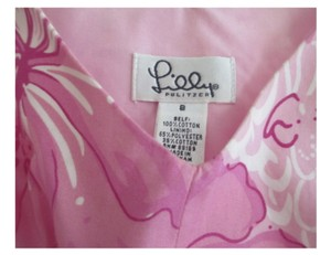 Lilly Pulitzer Top PINK AND WHITE