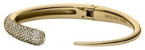 Michael Kors Nwt Michael Kors Brilliance Statement Pave Gold Tone Bangle Bracelet