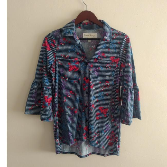 Preload https://img-static.tradesy.com/item/23554733/french-laundry-cute-floral-button-down-with-34-wide-sleeves-medium-20-inch-chest-155-inch-shoulder-t-0-3-650-650.jpg