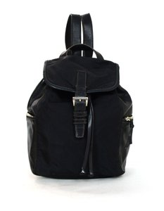 Prada Leather Drawstring Vintage Backpack