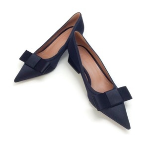 Marni Navy Blue Pumps