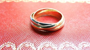 Cartier Gold Trinity 3 Color 18k Ring