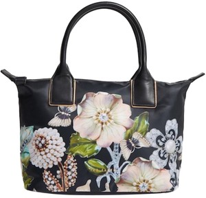 Ted Baker Tote in Black Floral