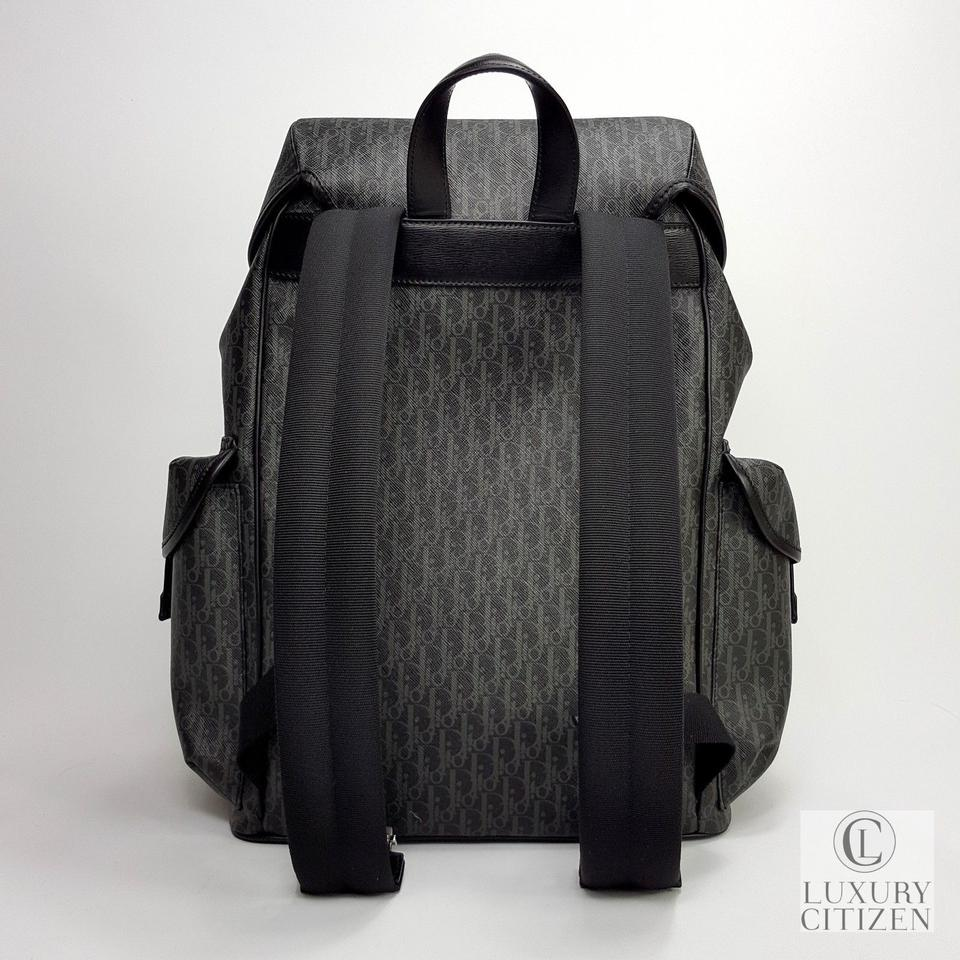 db8addee5 Black And White Canvas Backpack | The Shred Centre