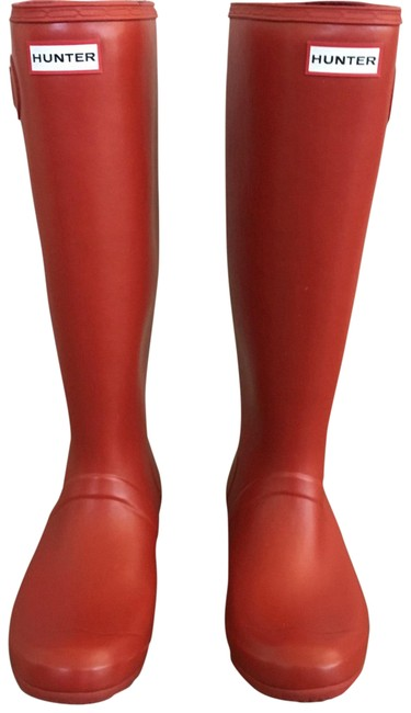 Item - Military Red Matte Tour Buckle Strap Boots/Booties Size US 9 Regular (M, B)