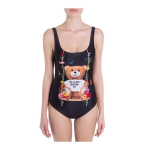 f2e936a67b Moschino Black One-piece Bathing Suit Size 6 (S) - Tradesy