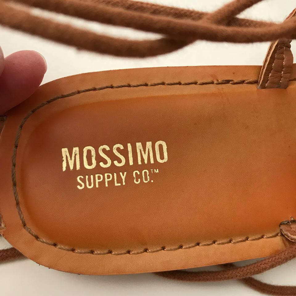 "f90339ecf75 Mossimo Supply Co. ""kayla"" Gladiator Pom Pom Sandals Size US 9 ..."