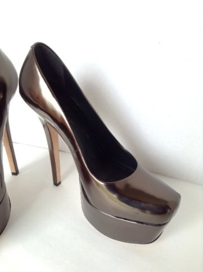 Alice + Olivia Metallic Platforms