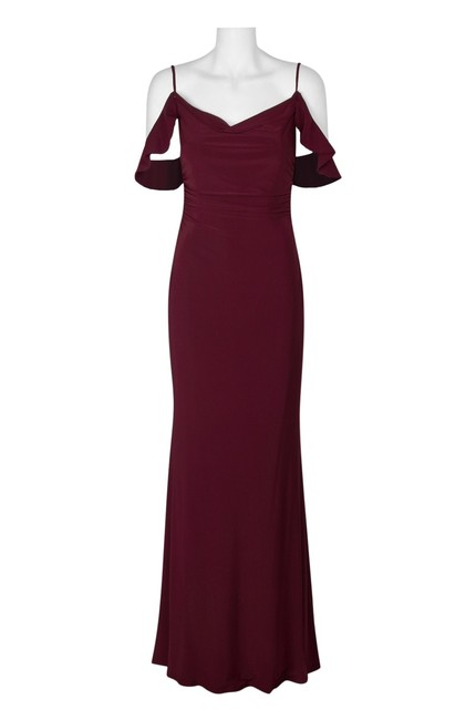 Laundry by Shelli Segal Cold Shoulder Prom Gown Dress Image 2