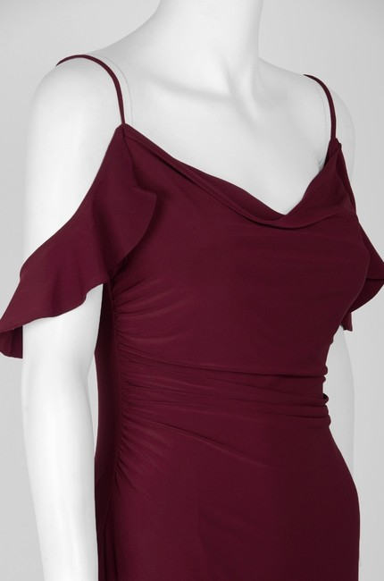 Laundry by Shelli Segal Cold Shoulder Prom Gown Dress Image 5