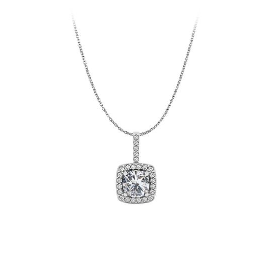 Preload https://img-static.tradesy.com/item/23557919/white-artful-round-cubic-zirconia-pendant-styled-in-14k-gold-necklace-0-0-540-540.jpg