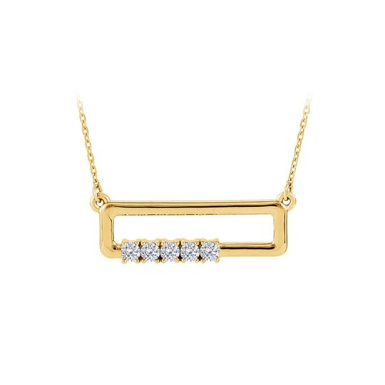 Preload https://img-static.tradesy.com/item/23558031/white-yellow-gold-cz-rectangle-for-mother-in-14k-necklace-0-0-540-540.jpg