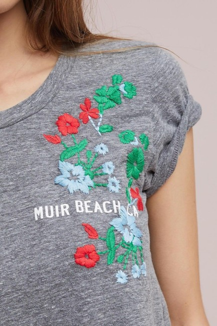 Anthropologie T Shirt Multi-Color Image 3