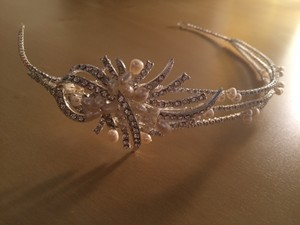 Crystal And Pearl Headpiece